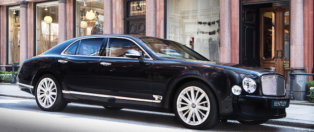 The Bentley Flying Spur.