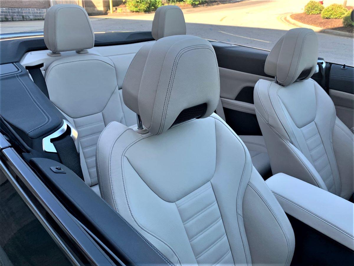 BMW M440i front seats