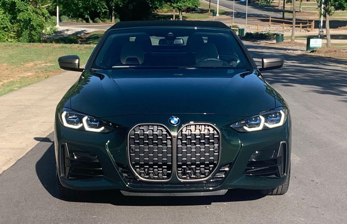 BMW M440i front fascia