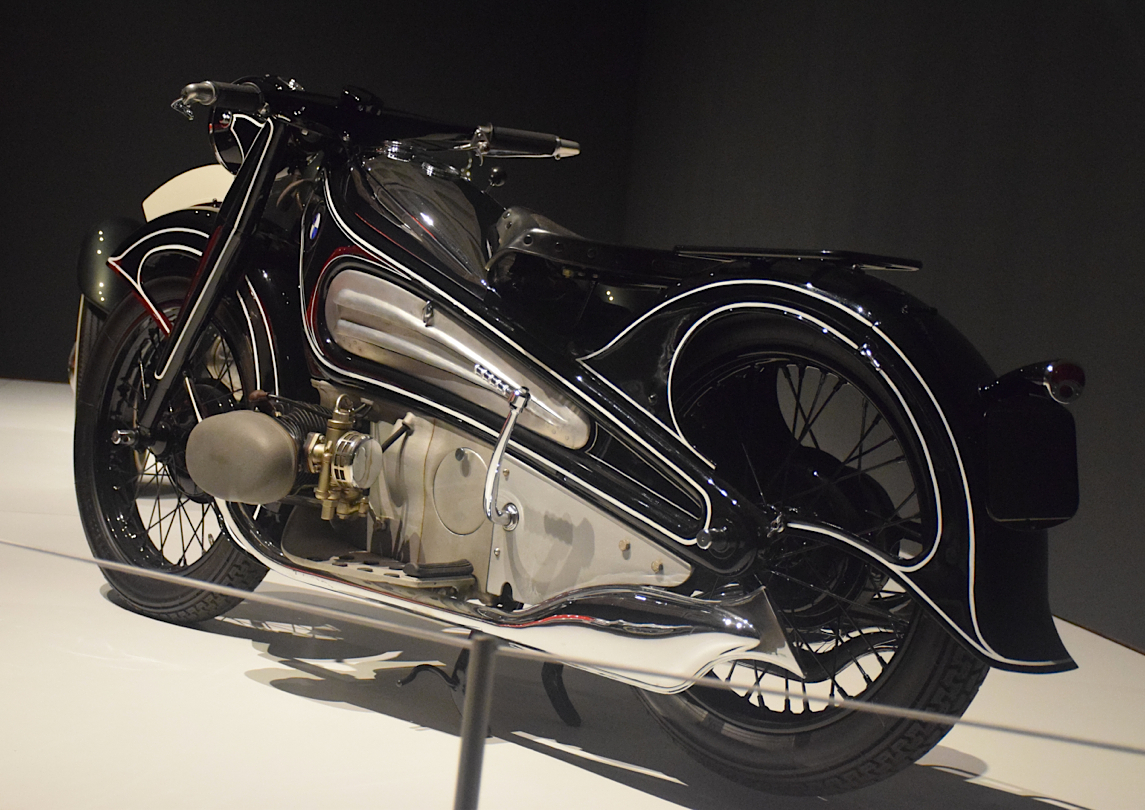 1934 BMW R7 Concept Motorcycle.
