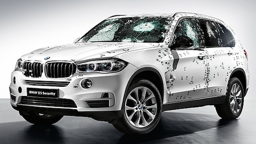 BMW X5 Security Vehicle