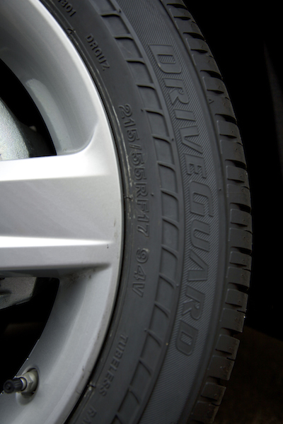 Bridgestone DriveGuard tire safety