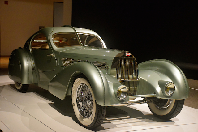 1935 Bugatti Aerolithe.