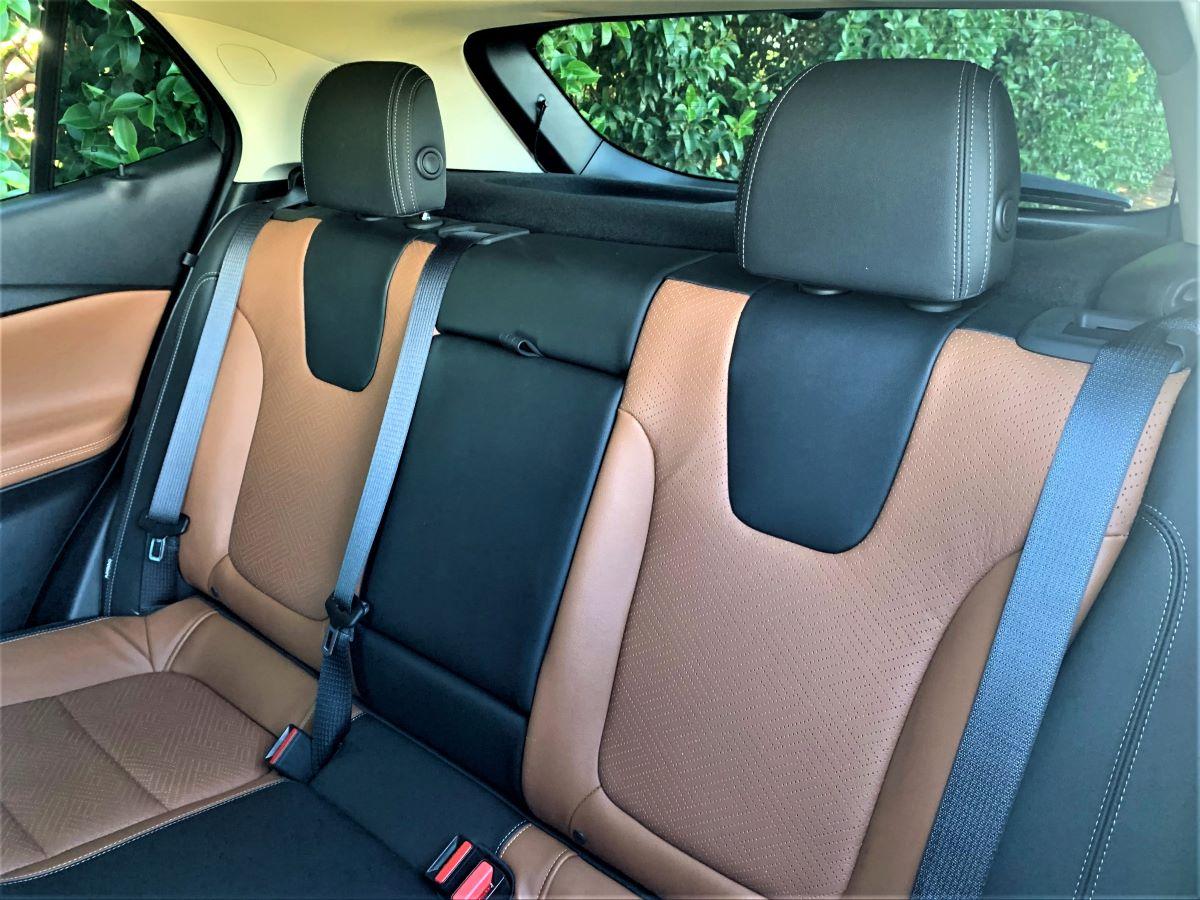 2021 Buick Encore GX rear seats