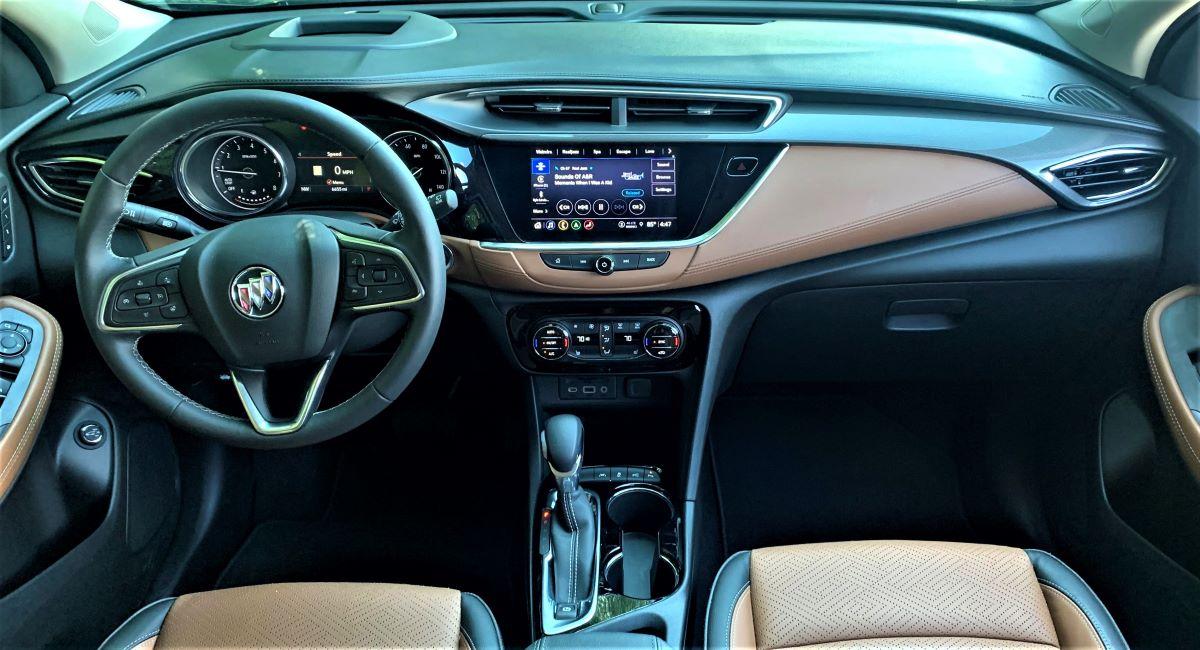 2021 Buick Encore GX dashboard