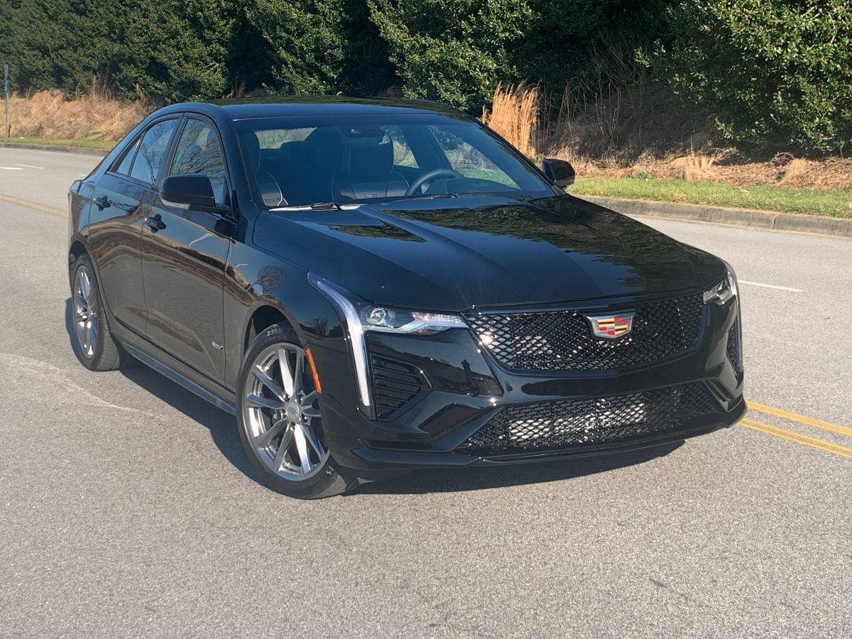 2021 Cadillac CT4-V performance