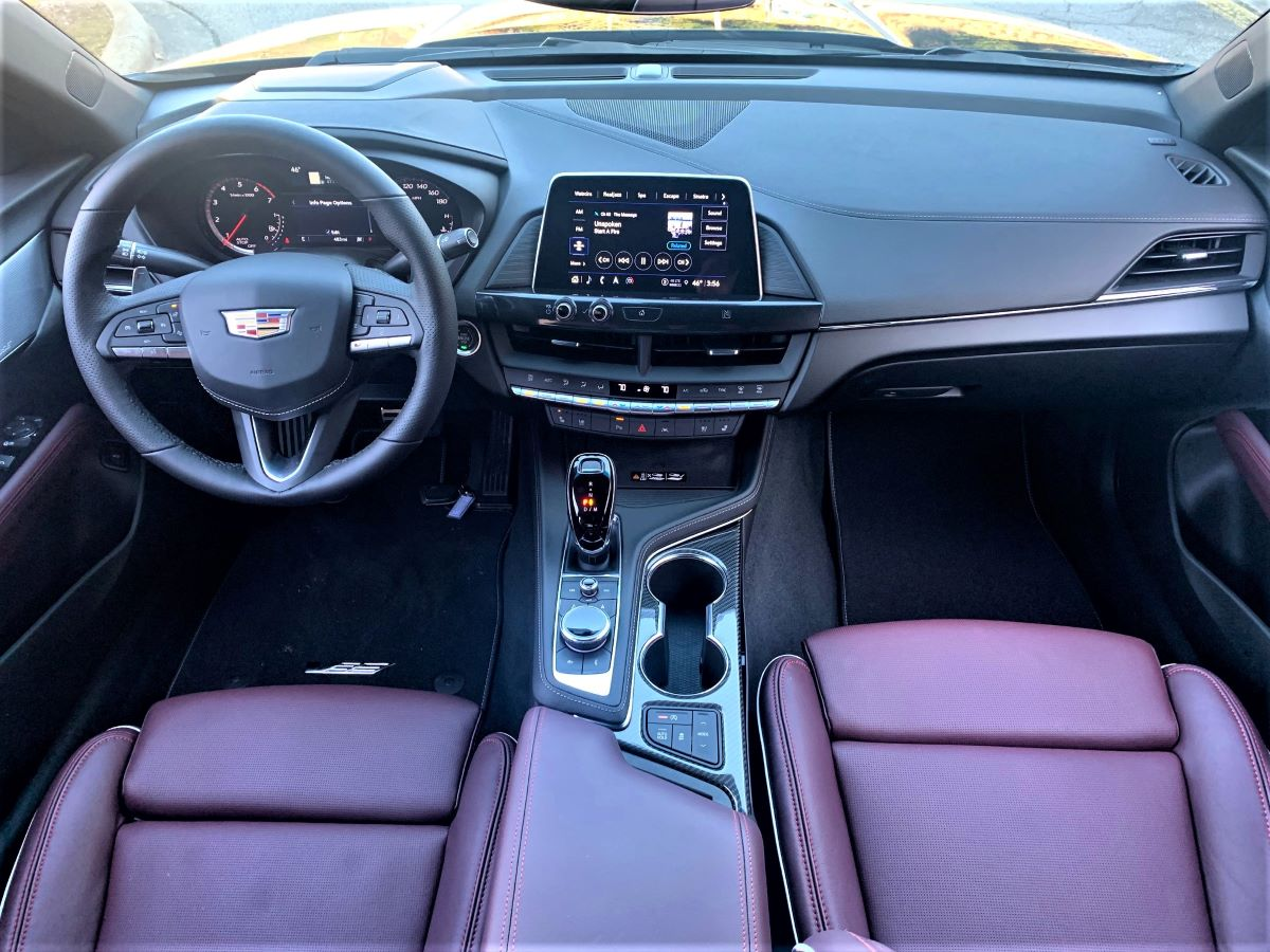 2021 Cadillac CT4-V style