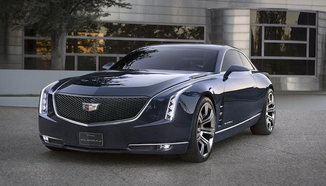Cadillac Elmiraj concept car.