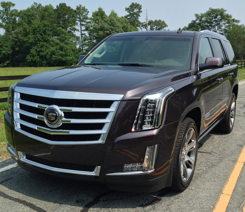 Living Large With A 2015 Cadillac Escalade Premium 4WD