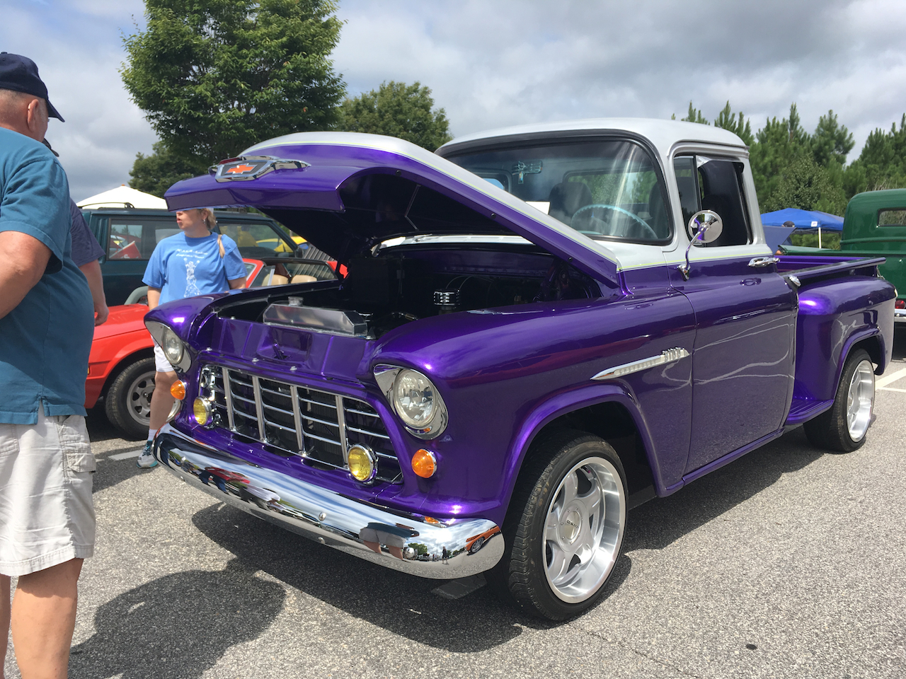 Chevrolet 3100 pickup truck. Capital City Cruisers