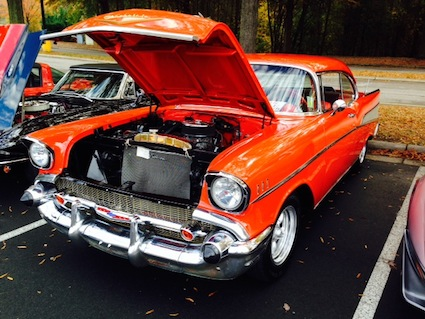 Cars and Coffee: Chevrolet Bel Air