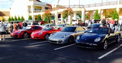 Nov. 2013 Cars and Coffee meetup, Cary, NC.