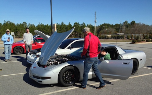 Cars and Coffee Fayetteville