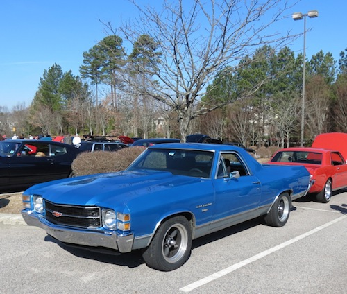 Cars and Coffee Raleigh: Chevrolet El Camino