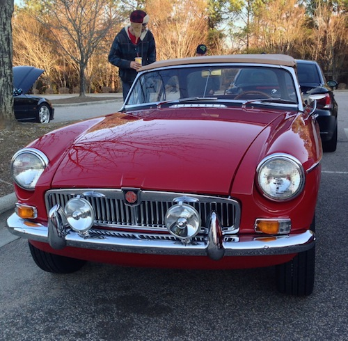 Cars and Coffee Raleigh: MG Roadster