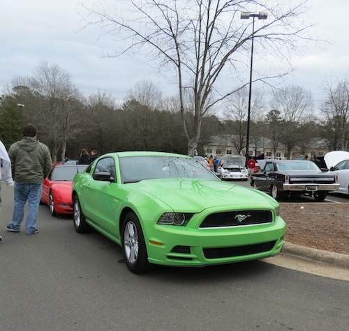 Cars and Coffee Cary: Ford Mustang