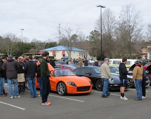 Cars and Coffee Cary: Yes!