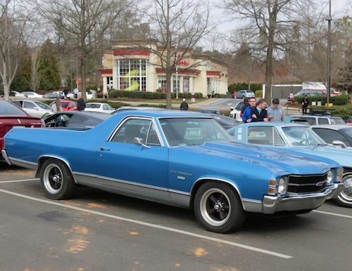 Cars and Coffee Cary: Chevrolet El Camino