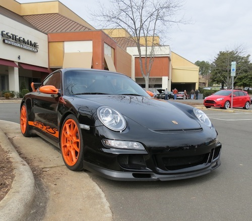 Cars and Coffee Cary: Porsche 911 GT3 RS