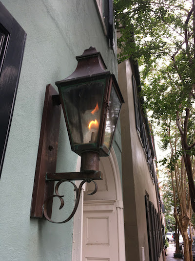 Charleston oil lamp