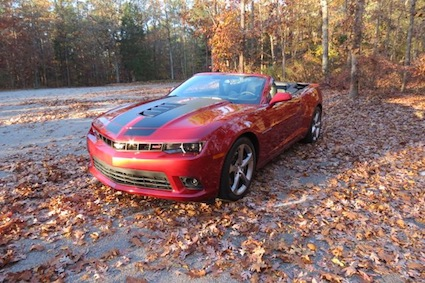 Car Reviews: 2014 Chevy Camaro SS Convertible.