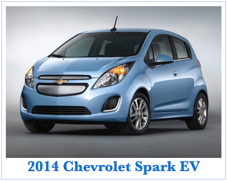Chevrolet Spark Electric Vehicle