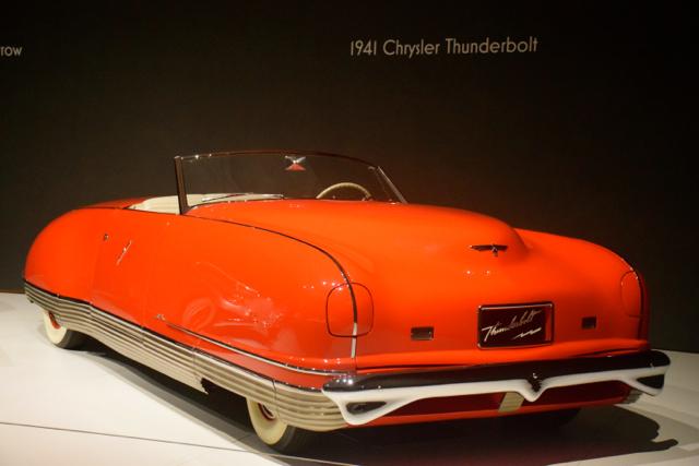 1941 Chrysler Thunderbolt concept.