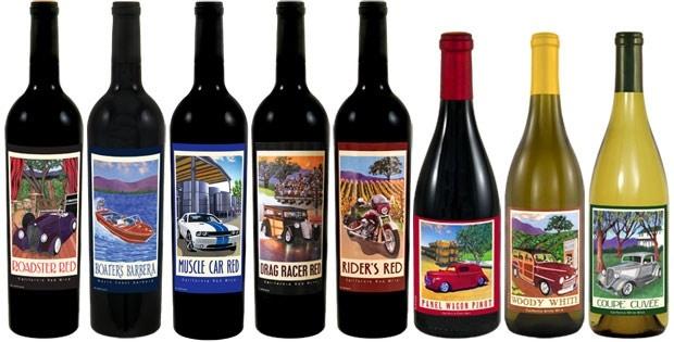 classic car wines