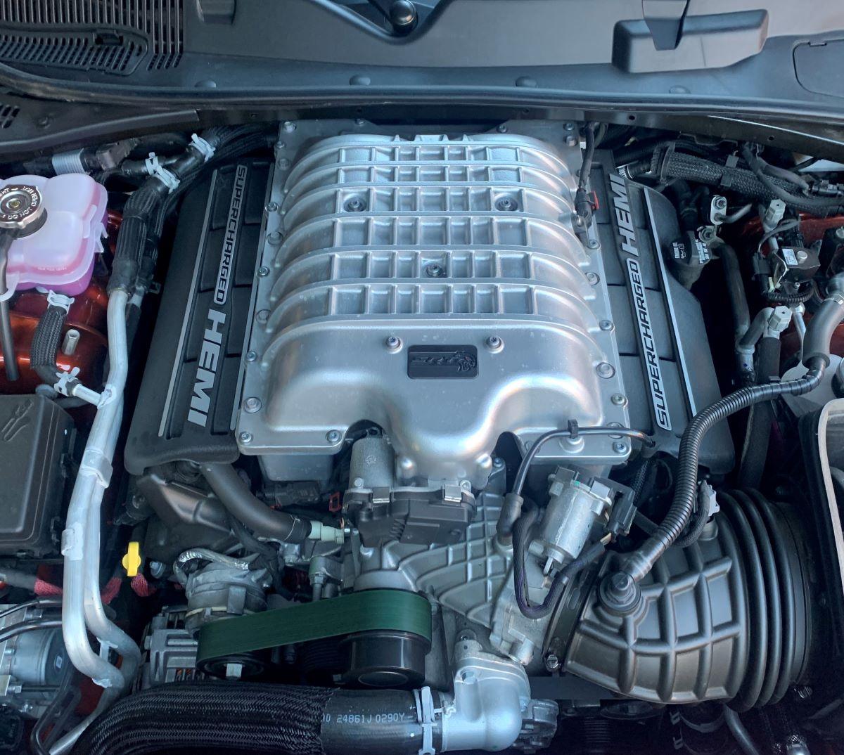 Dodge Challenger SRT Hellcat Redeye Supercharger