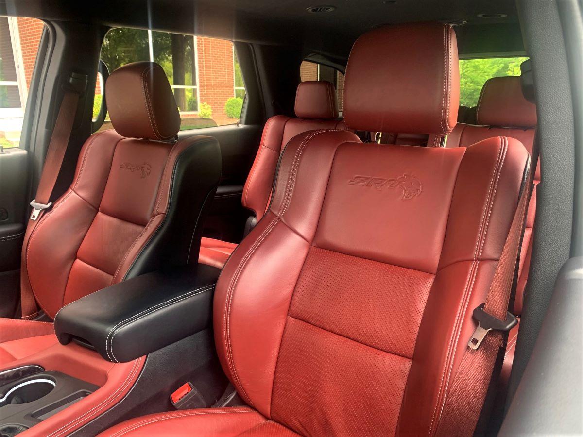 2021 Dodge Durango SRT Hellcat front seats
