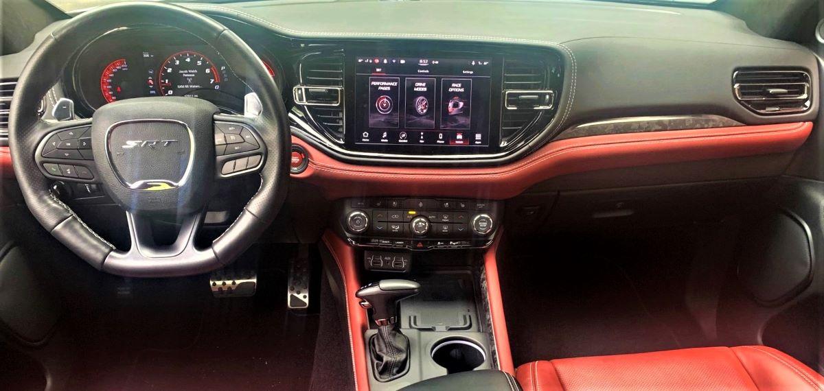 2021 Dodge Durango SRT Hellcat insignia