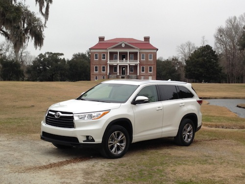 Top Safety Pick+ -- 2014 Toyota Highlander (select models).