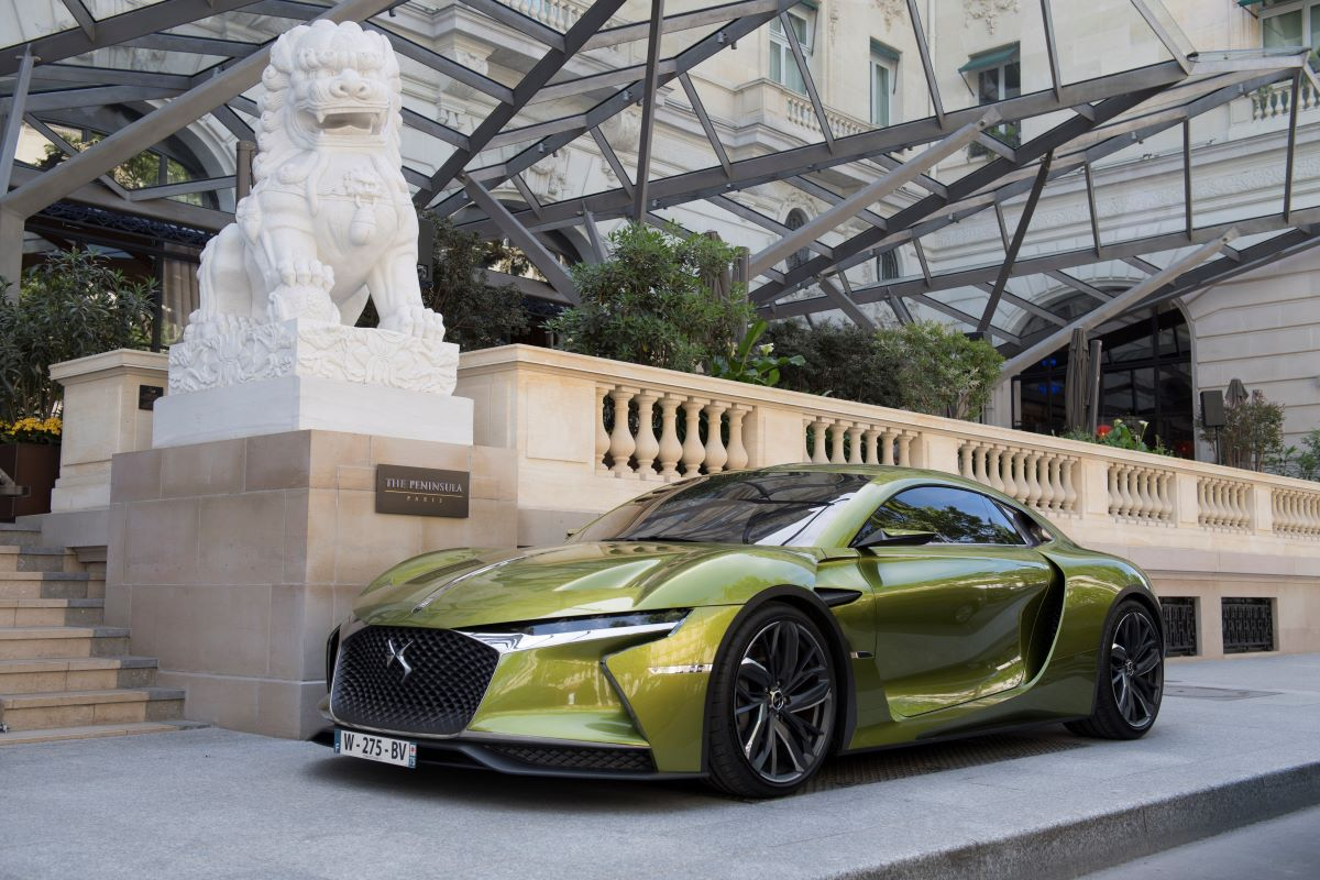 DS eTense concept car