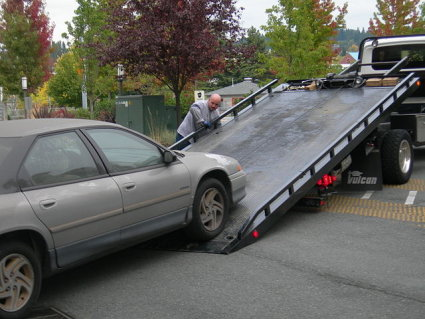 flat-bed towing