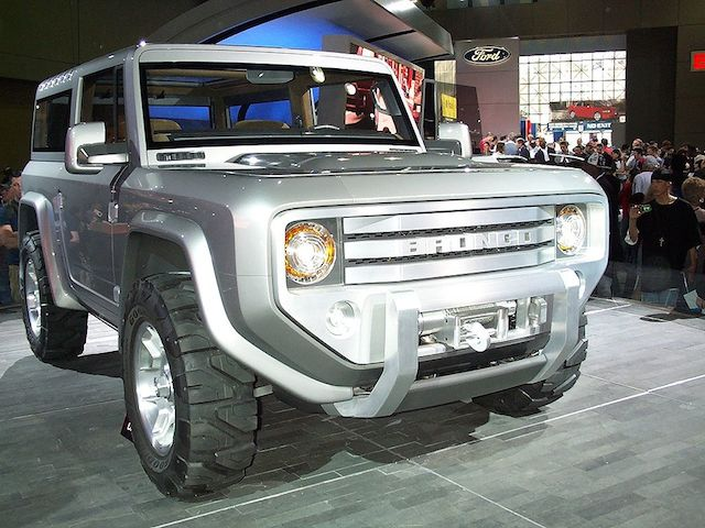 Ford Bronco concept car.