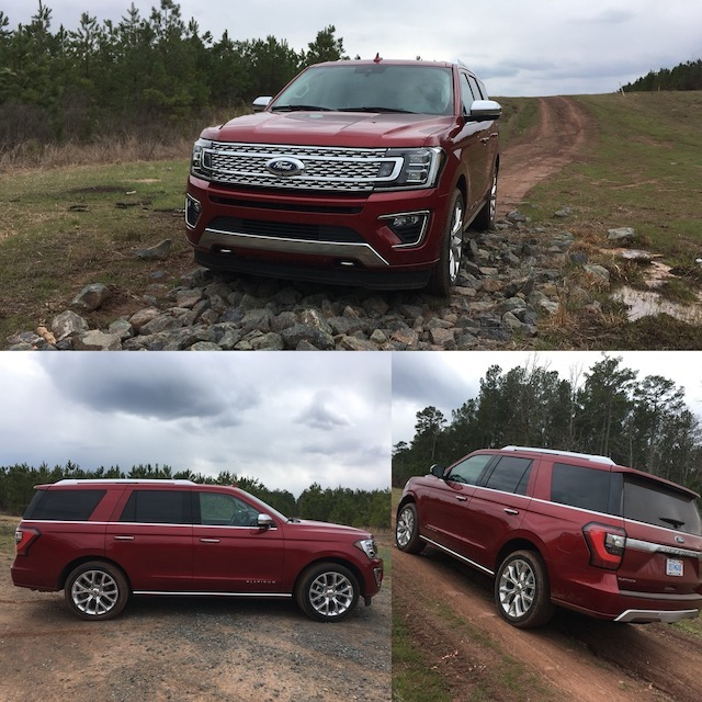 2018 Ford Expedition Platinum 4WD.