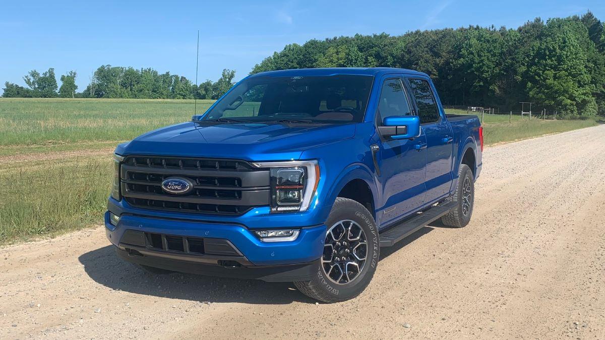 2021 Ford F-150 Hybrid Blue
