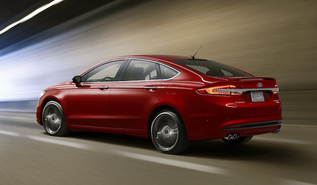 2017 Ford Fusion Sport.