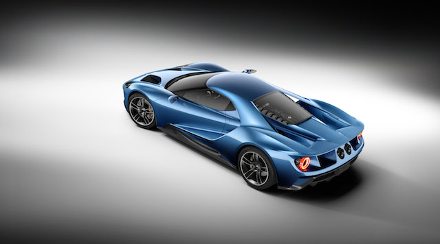 Ford GT Supercar.