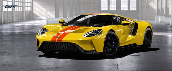 2017 Ford GT Supercar.