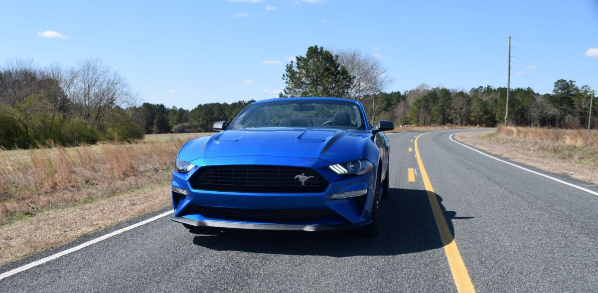 2021 Ford Mustang Convertible Front Fascia