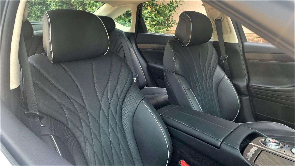 Genesis G80 front seats