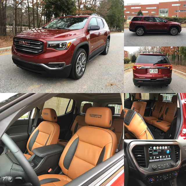 2018 GMC Acadia All Terrain.