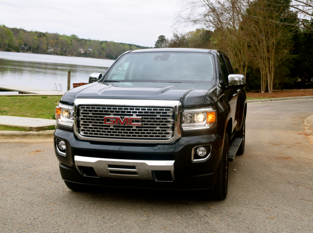 2017 GMC Canyon Denali Crew Cab 4x4 short bed.