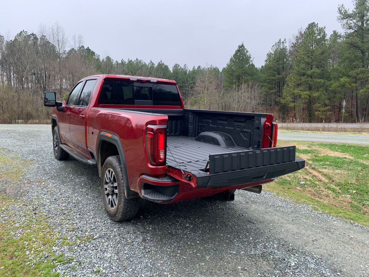 GMC MultiPro Primary Tailgate Load Stop