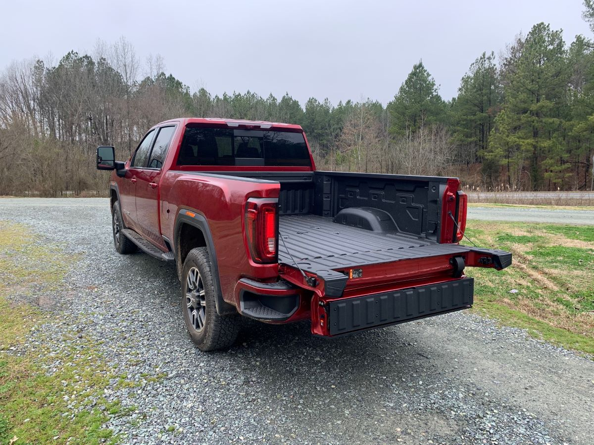 GMC MultiPro Tailgate Ease of Access