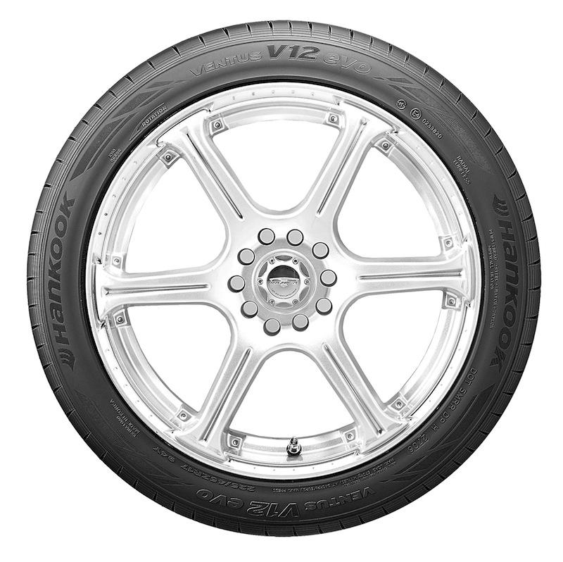 Hankook Ventus V12 evo summer tire.