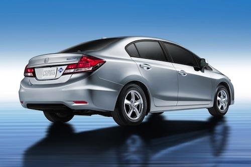 2014 Honda Civic Natural Gas sedan.