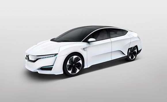 Honda FCV Concept.