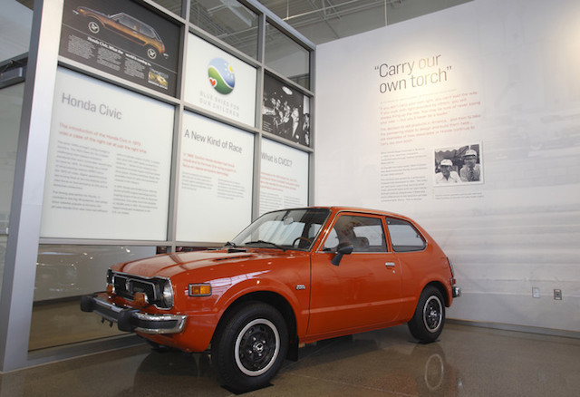 1974 Honda Civic.